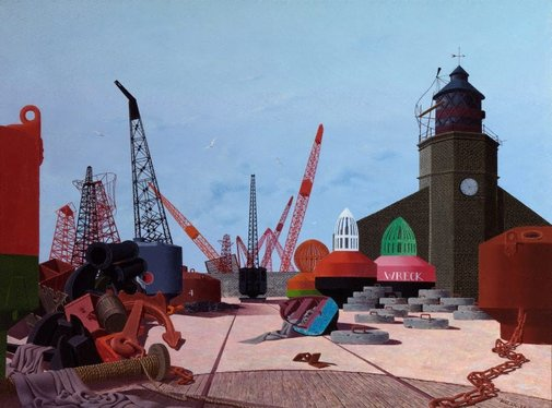 An image of Trinity wharf by Tristram Hillier