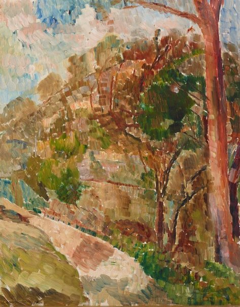An image of Golden morning by Grace Cossington Smith