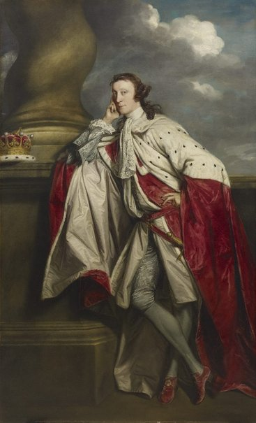An image of James Maitland, 7th Earl of Lauderdale by Sir Joshua Reynolds
