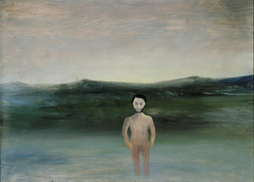 An image of Fraser Island by Sidney Nolan
