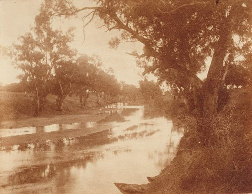 An image of Untitled (river) by Norman C Deck