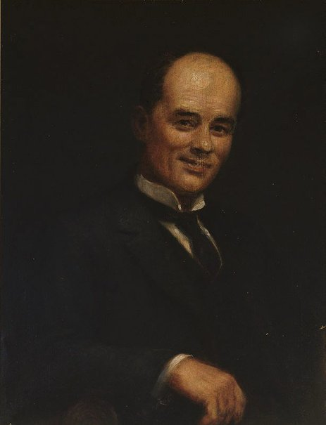 An image of Portrait of Percy Leason by William MacLeod