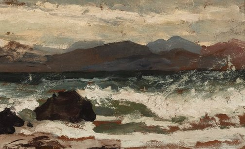 An image of Wilson's Promontory by Charles Bush