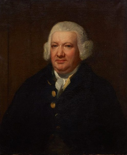 An image of Portrait of a man by attrib. Sir William Beechey