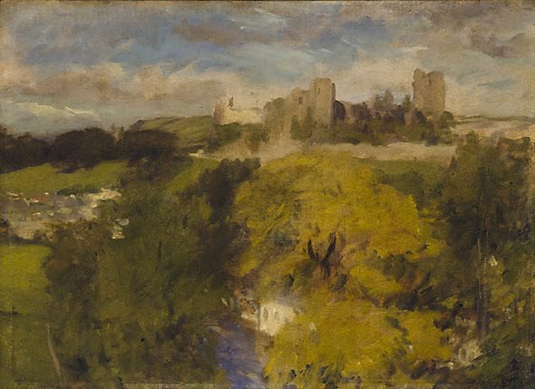 An image of Richmond Castle, Yorkshire