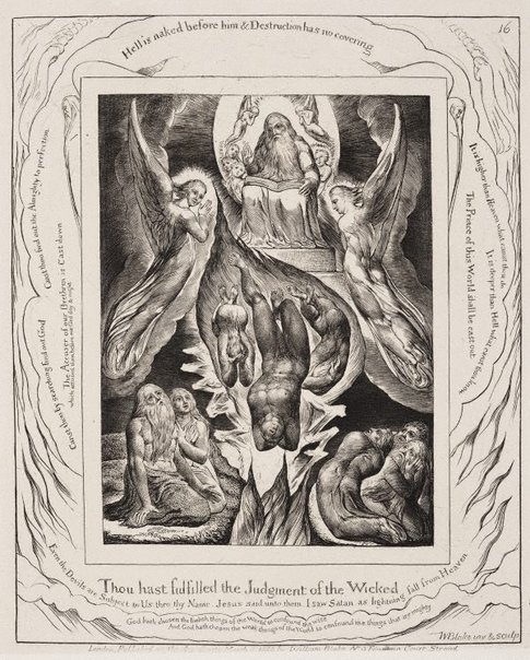 Fall Of Lucifer: The Fall Of Satan, (1825), Illustrations Of The Book Of