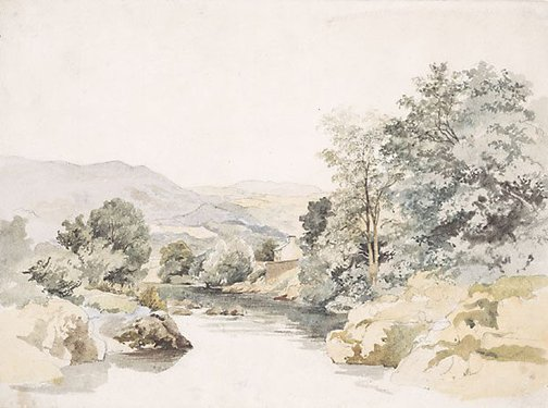 An image of River scene by James Stark