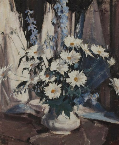An image of Marguerites by Walter Graham Grieve