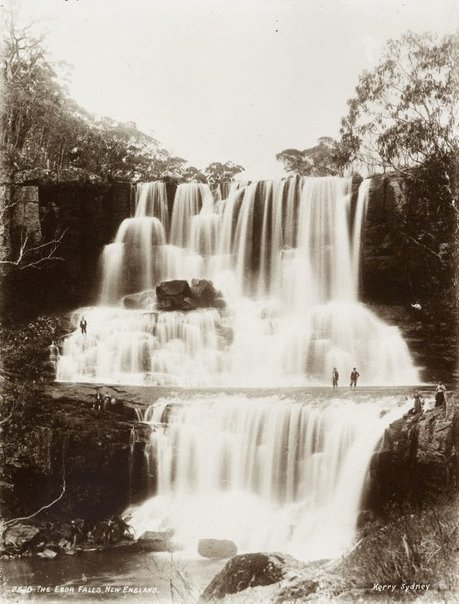 An image of The Ebor Falls, New England by Unknown, Kerry & Co