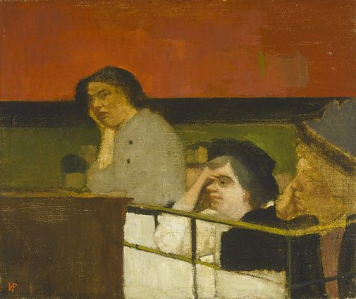 An image of The Suffragettes by Victor Pasmore