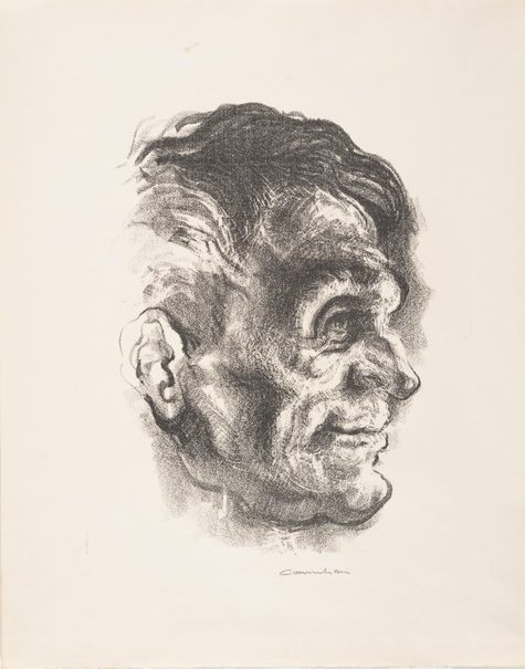 An image of A furnaceman by Noel Counihan