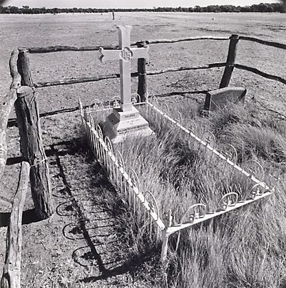 An image of Grave, 'Millungera', North Queensland by Max Dupain