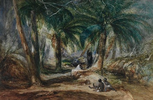 An image of Valley of the ferns by John Skinner Prout