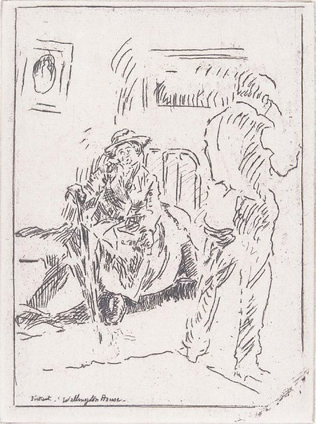 An image of Wellington House by Walter Richard Sickert