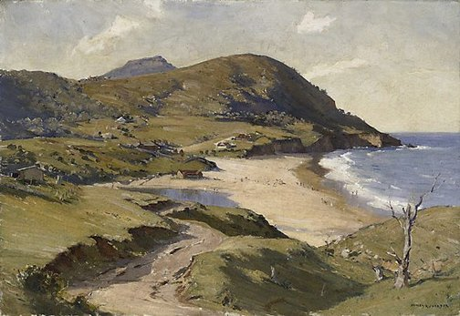 An image of The old road, South Coast by James R Jackson