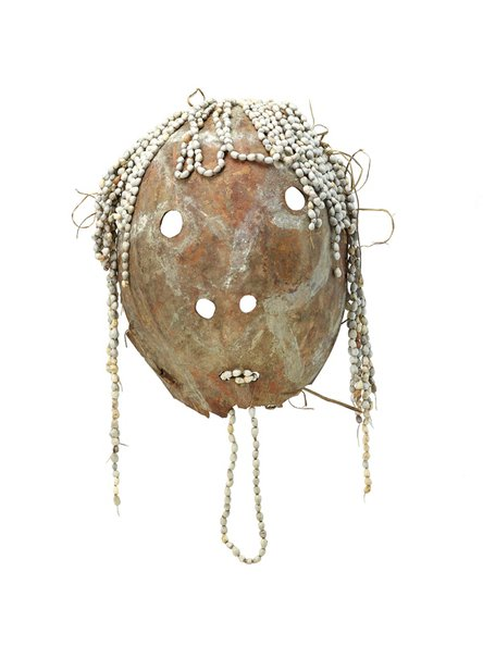 An image of Gourd mask by