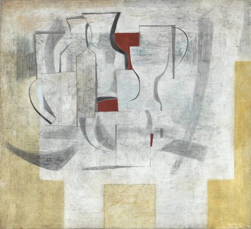 An image of 1946 (still life - Alice through the looking glass) by Ben Nicholson
