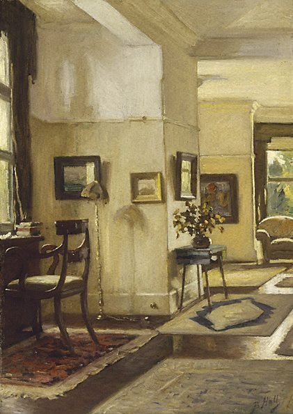 An image of Interior by Bernard Hall