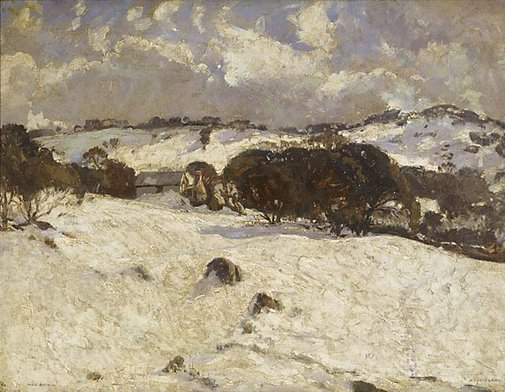 An image of Smiggin's camp, Kosciusko by Will Ashton