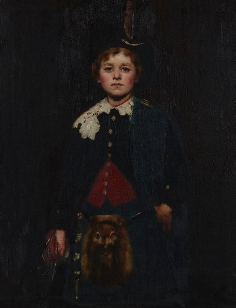 An image of Louis Buvelot Esson aged ten by George Walton