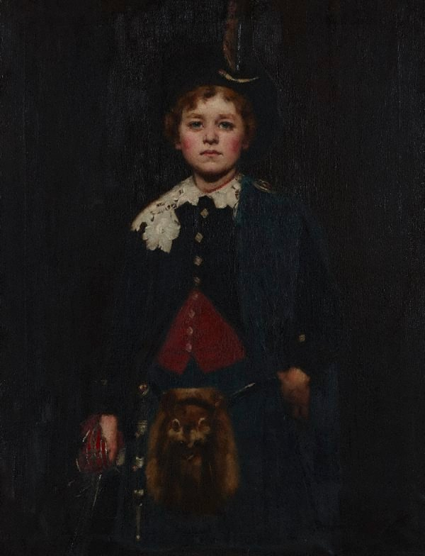 An image of Louis Buvelot Esson aged ten