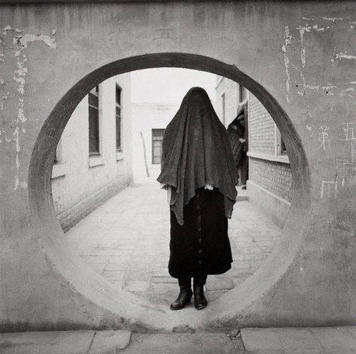 An image of Muslin woman – Kashgar, China by Max Pam