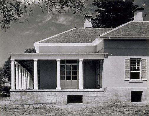 An image of Macquarie Field House by Max Dupain