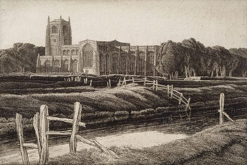 An image of Tattershall by Frederick Landseer Griggs