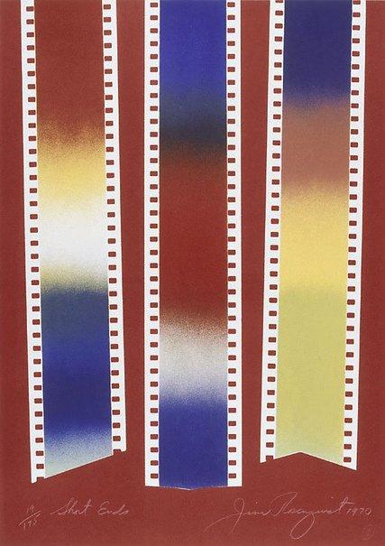 An image of Short ends by James Rosenquist