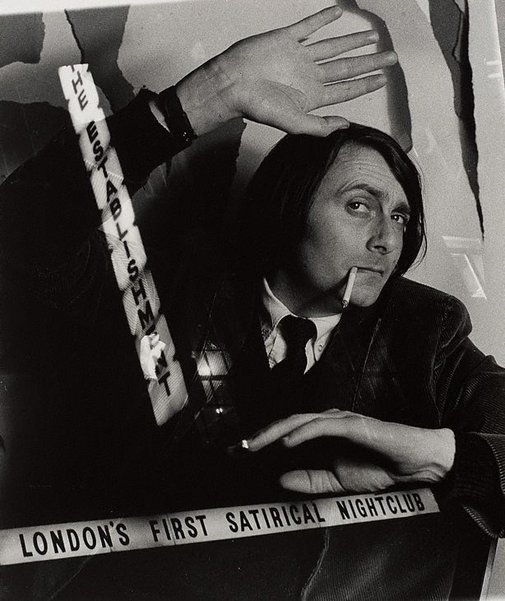 An image of Barry Humphries, London by Lewis Morley