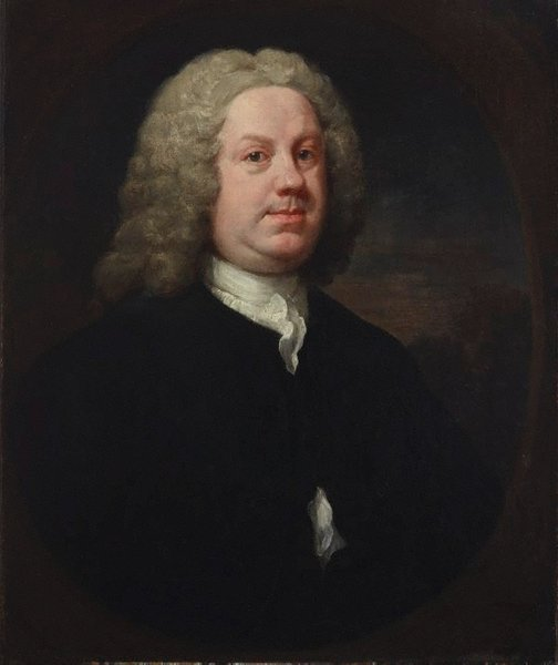 An image of Dr Benjamin Hoadly, MD by William Hogarth