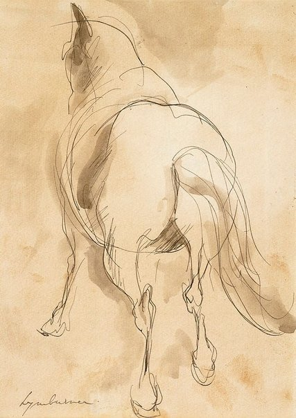 An image of Horse by Francis Lymburner