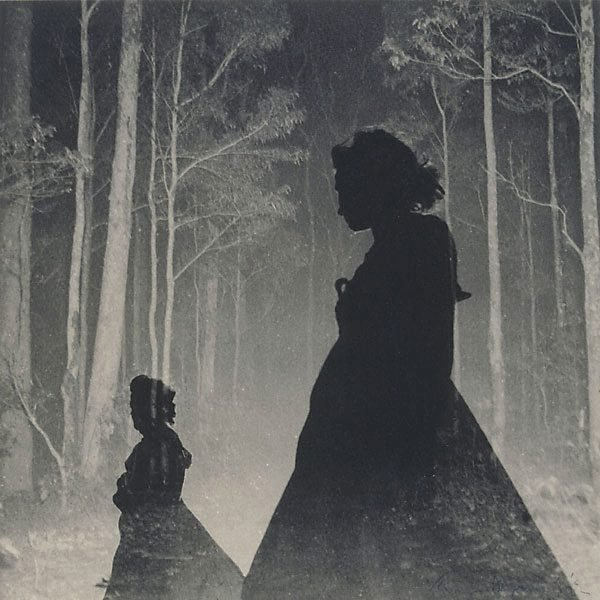 An image of Untitled (Women silhouettes and trees)