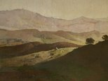 Alternate image of Evening on the Bathurst Hills by Lloyd Rees