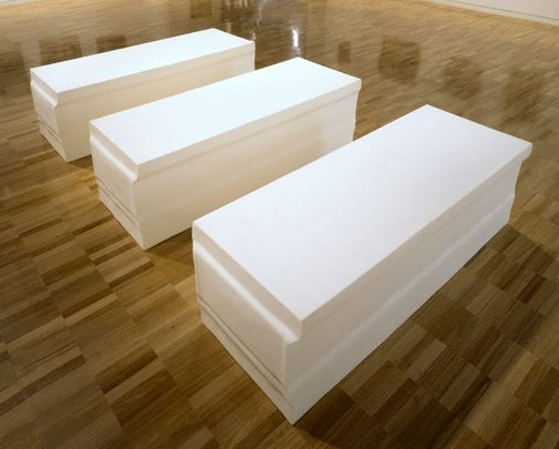 An image of Untitled (elongated plinths) by Rachel Whiteread