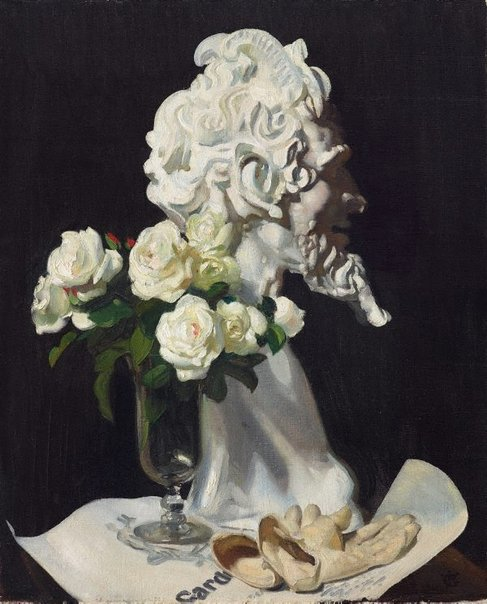 An image of Pan is dead (still life) by George W Lambert