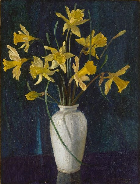 An image of Daffodils by Elioth Gruner