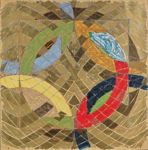 An image of Polar coordinates VI by Frank Stella