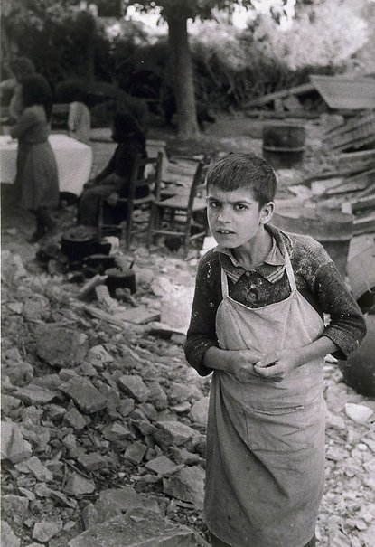 An image of Boy, earthquake Cyprus by David Potts