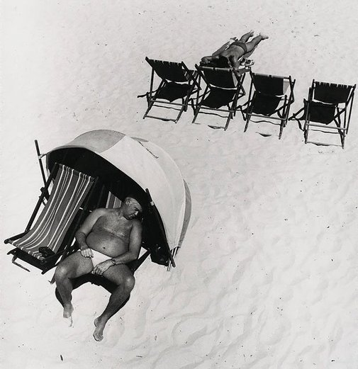 An image of Untitled (Sunbaker, Bondi) by Philip Quirk