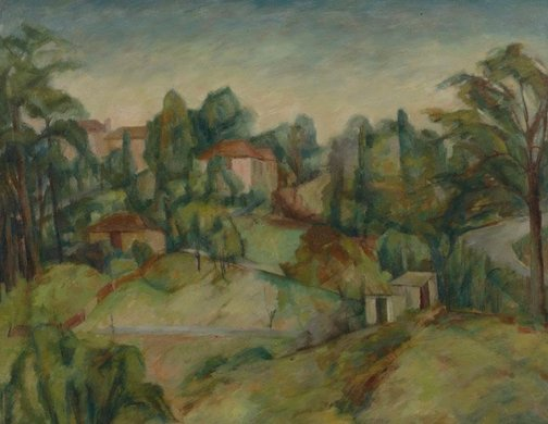 An image of Hillside by Jean Appleton
