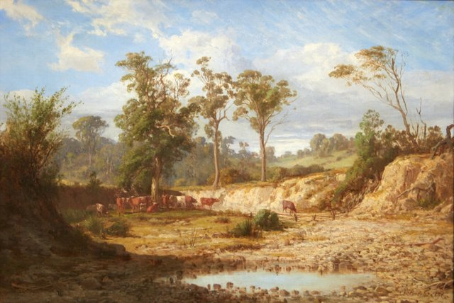 An image of Goodman's Creek, Bacchus Marsh, Victoria