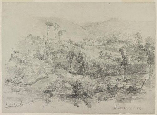 An image of Blackwood by Louis Buvelot