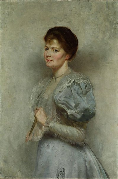 An image of Mrs Lucy Scot Skirving by Tom Roberts