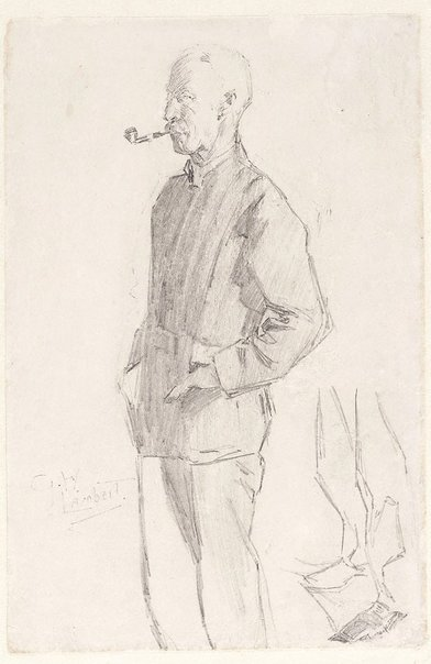 An image of Julian Ashton by George W Lambert