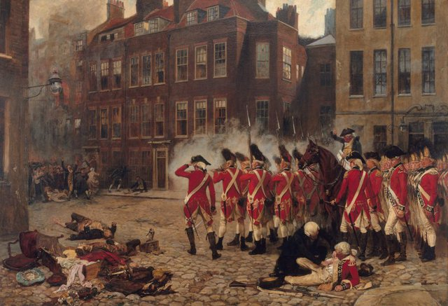 An image of The Gordon Riots, 1780
