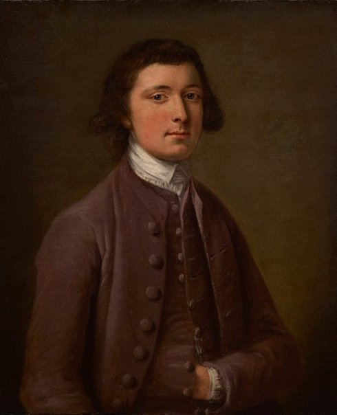 An image of Self portrait by attrib. Archibald Skirving