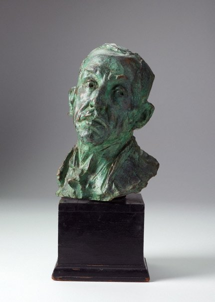 An image of William Morris Hughes (1864-1952) by Derwent Wood, Alan Ingham