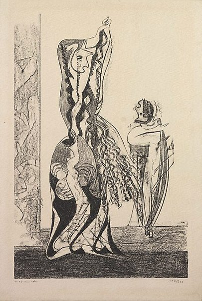 An image of La danseuse by Max Ernst