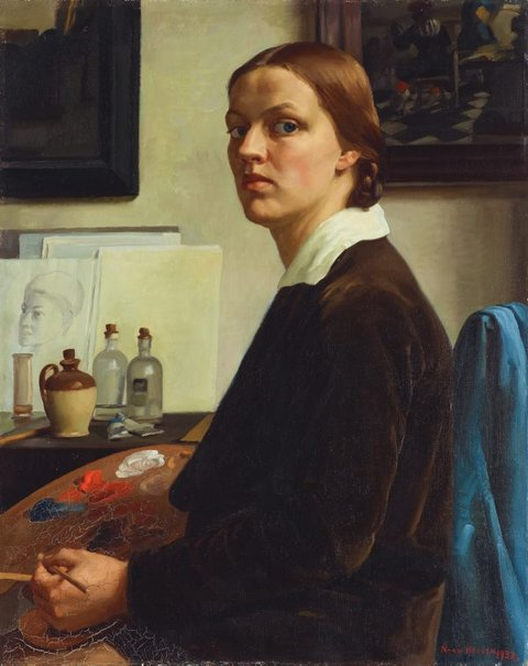 An image of Self portrait by Nora Heysen